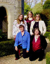 The five Kitzinger sisters 29 March 2009