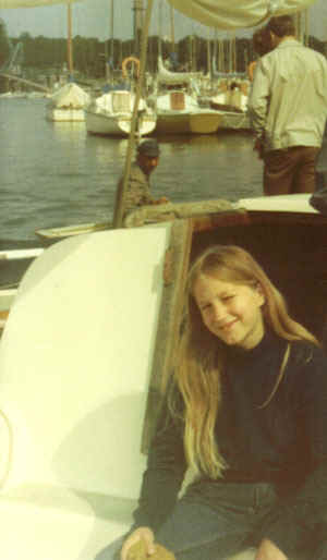 Young Polly In Harbour